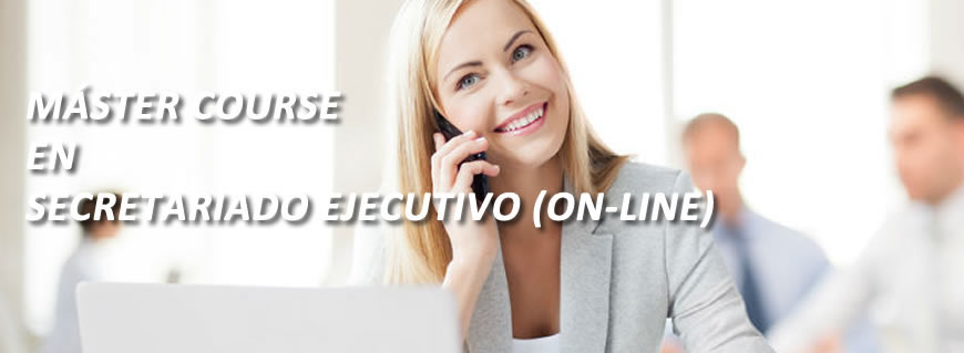 Máster Course en Secretariado Ejecutivo On Line